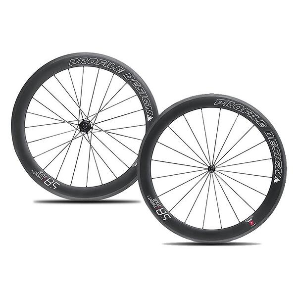 Profile Design 58/Twenty Four Carbon CL Road/Tri Wheelset