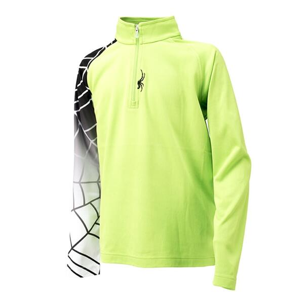 Spyder Boy's Linear Web T-neck