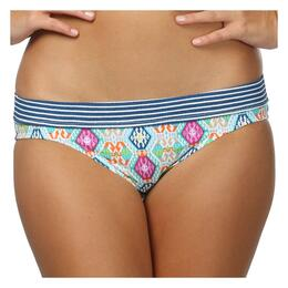 Sperry Top-sider Women's Trading Post Banded Wide Hipster Bikini Bottom