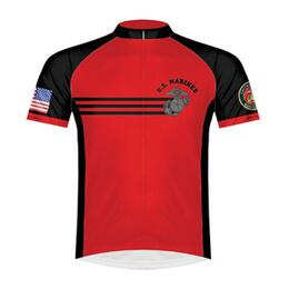 Primal Wear Men's U.s. Marines Vintage Cycling Jersey