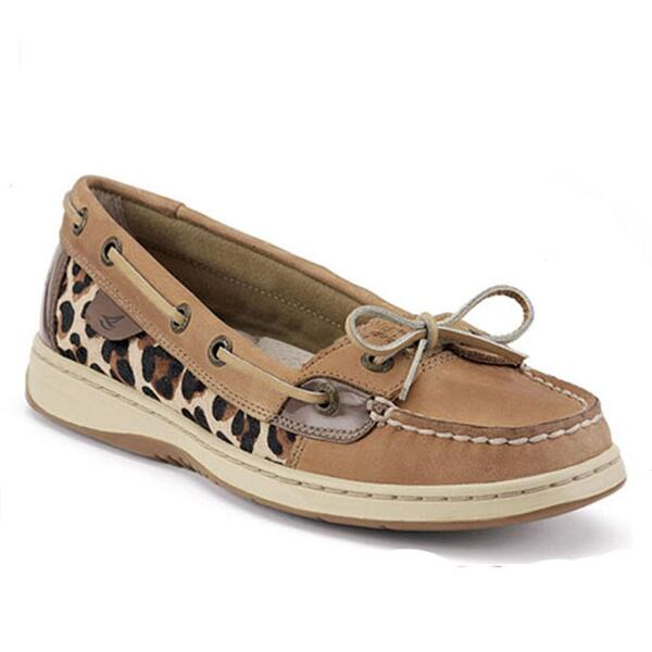 Sperry Women's Angelfish Leopard Slip-on Boat Shoes