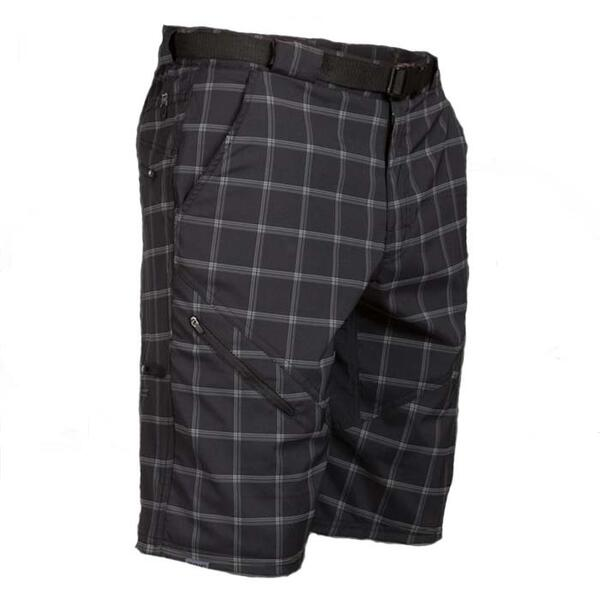 Zoic Men's Bm Plaid Mtb Shorts