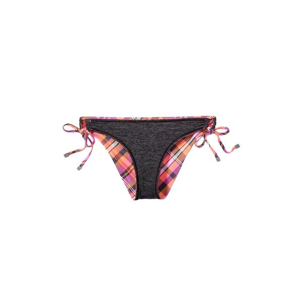 Oakley Women's Energy Plaid Reversible Tie Side Bikini Bottoms