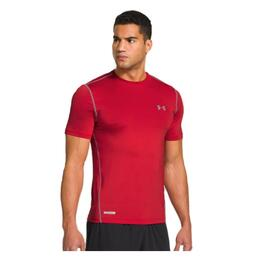 Under Armour Men's Heat Gear Sonic Fitted Short Sleeve Tee Shirt