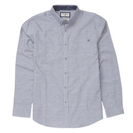 Billabong Men's All Day Chambray Long Sleeve Shirt