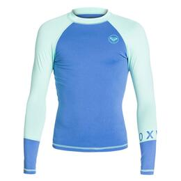 Roxy Girl's Sea Bound Long Sleeve Rashguard