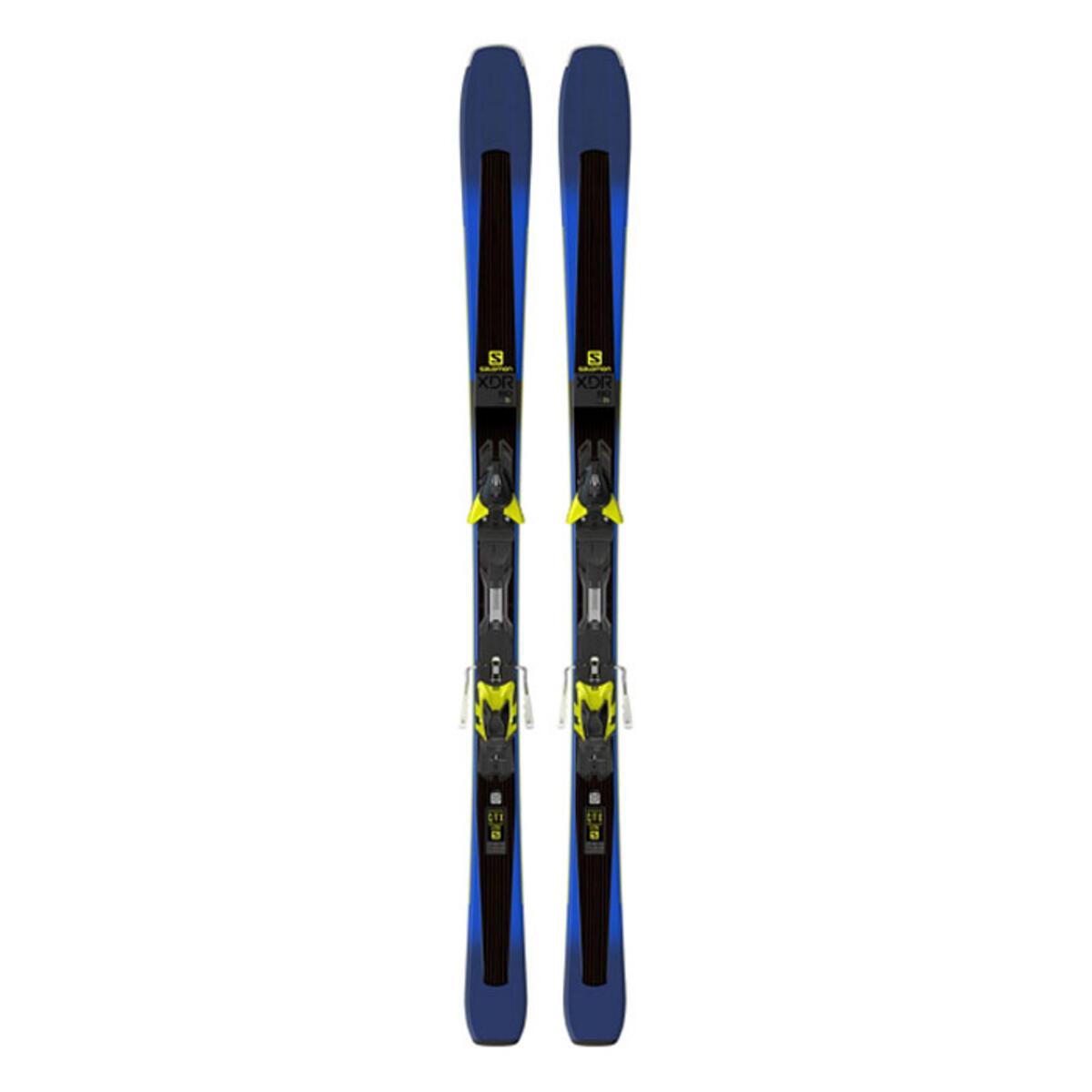 Salomon Men's XDR 80 Ti Skis With XT12 Bindings '18