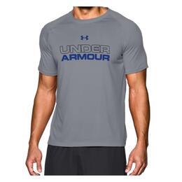 Under Armour Men's Core Wordmark Running Tee