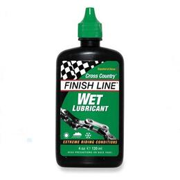 Finish Line Wet Lube 4oz Drip Bottle