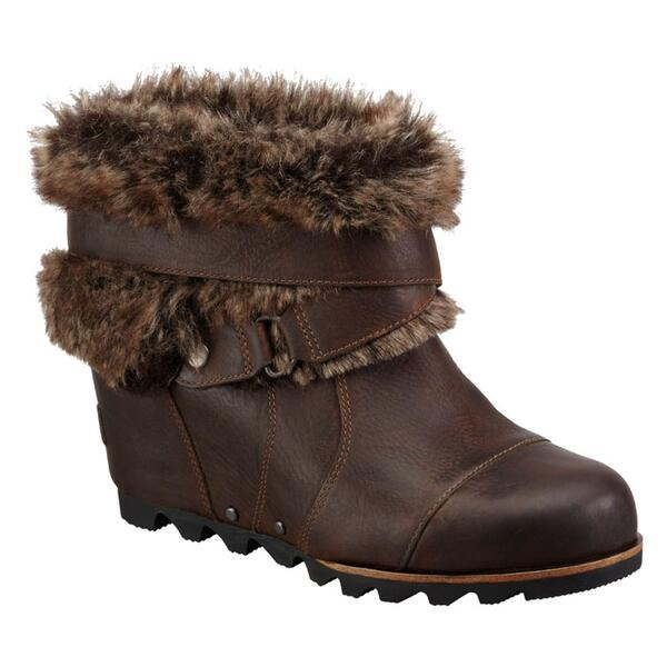 Sorel Women's Joan Of Arctic Wedge Ankle Apres Ski Boots
