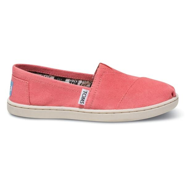 Toms Children's Youth Canvas Classic Slip-on Shoes