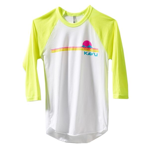 Kavu Women's Retro Quarter Sleeve Tee