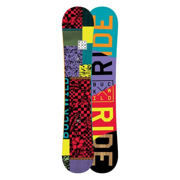 Ride Men's Buck Wild Wide Snowboard '15