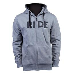 Ride Men's Logo Full Zip Hoodie