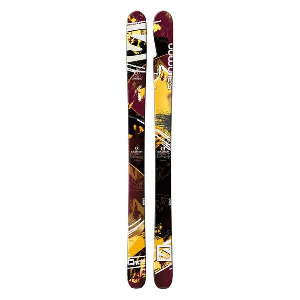 Salomon Men's Quest 105 All Mountain Backside Skis '14 - Flat