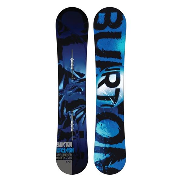 Burton Men's Clash Wide All Mountain Snowboard '14