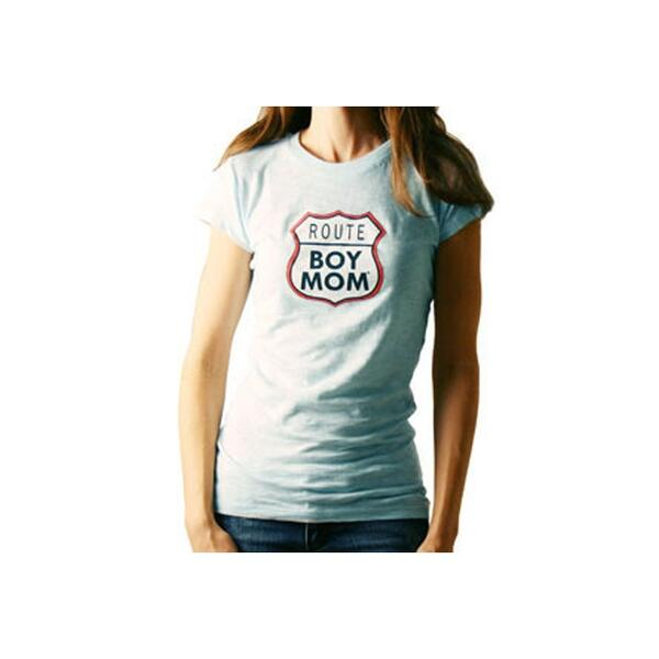 Boymom Women's Route - Road Trippin W/ The Boys Tee