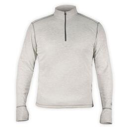 Hot Chillys Men's Geo-Pro Midweight Solid Zip T-neck