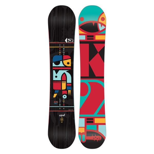 K2 Men's Fastplant Wide Snowboard '12