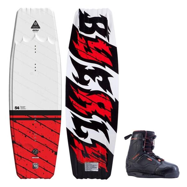 Byerly Men's Conspiracy Wakeboard W/ Shift Bindings '14