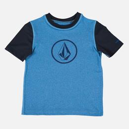 Volcom Boy's Heather Short Sleeve Rashguard