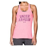 Under Armour Women's Charged Cotton Word Tee