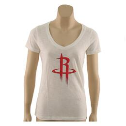 47 Brand Women's Houston Rockets V-neck Tee Shirt