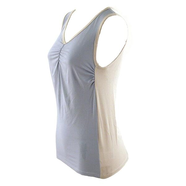 Shebeest Women's Two-Tone Tissue Tank