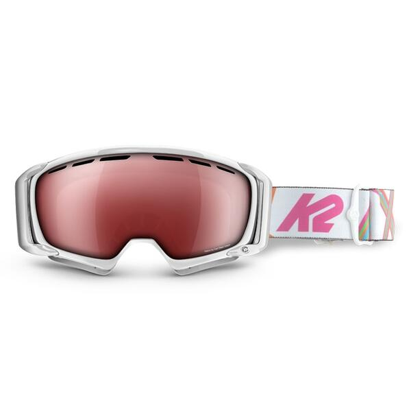 K2 Women's Sira Goggles with Vermilion/Methane Silver Tripic Mirror Lens