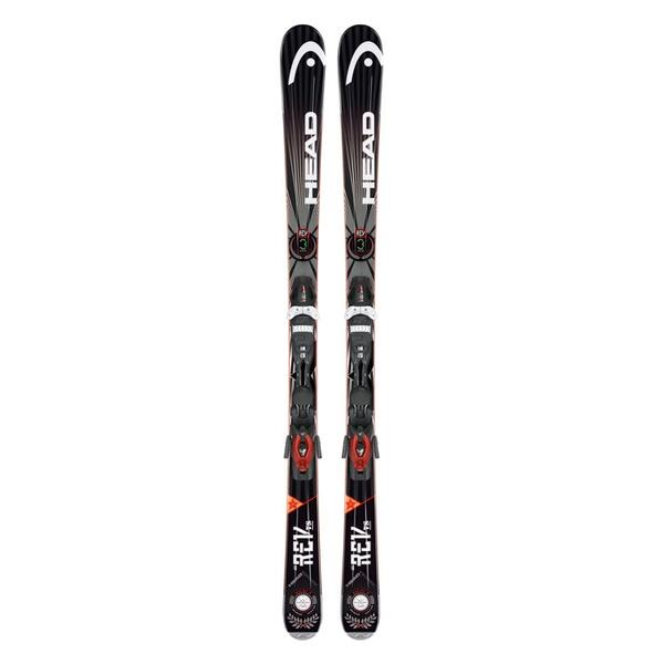 Head Men's Rev 78 All Mountain Skis with PR 11 Bindings '14
