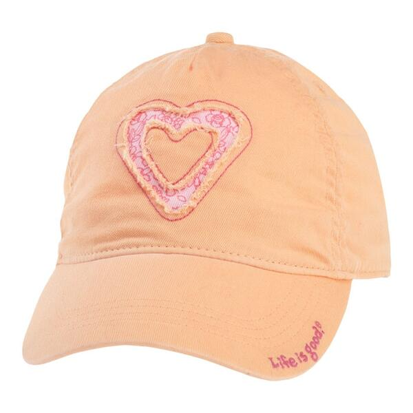 Life Is Good Women's Heart High 5 Tattered Chill Cap