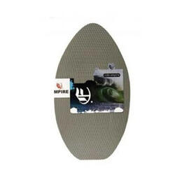 662 Empire Grey Wood Traction Skimboard