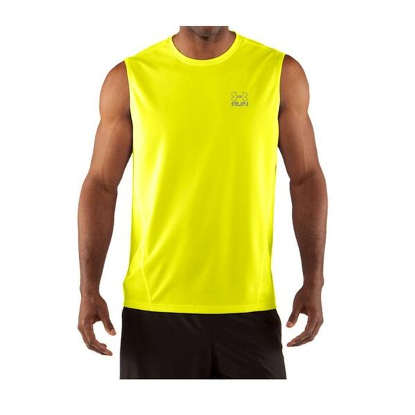 Under Armour Men's Run Heatgear Sleeveless Running Shirt