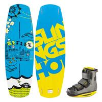Slingshot Men's Reflex Wakeboard w/KTV Bindings '14