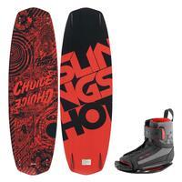 Slingshot Men's Choice Wakeboard w/Option Bindings '14