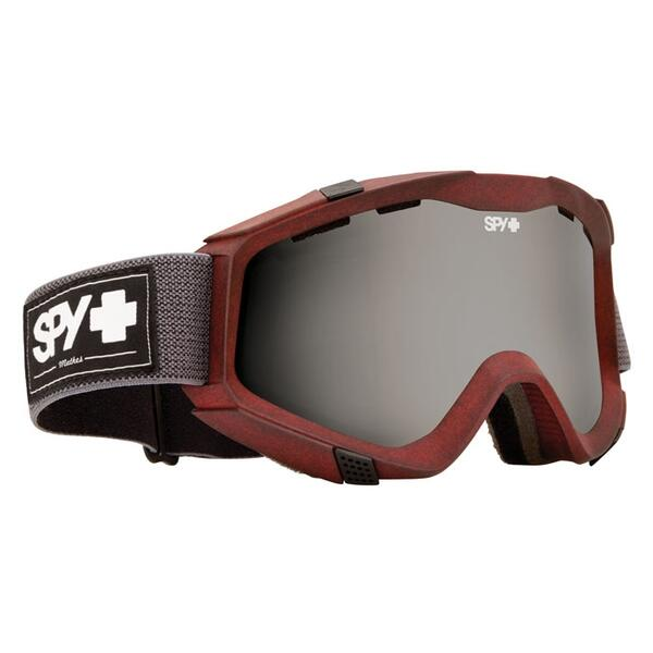 Spy Darrell Mathes Zed Snow Goggles with Grey/Black Mirror Lens
