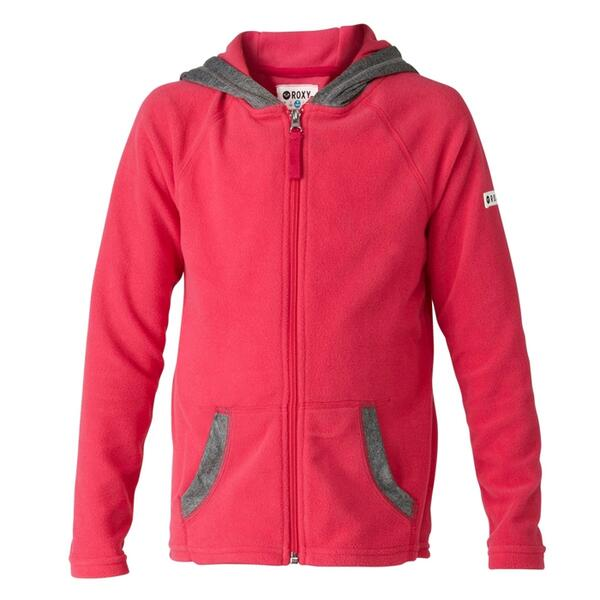 Roxy Girl's Cozy Up Fleece Jacket