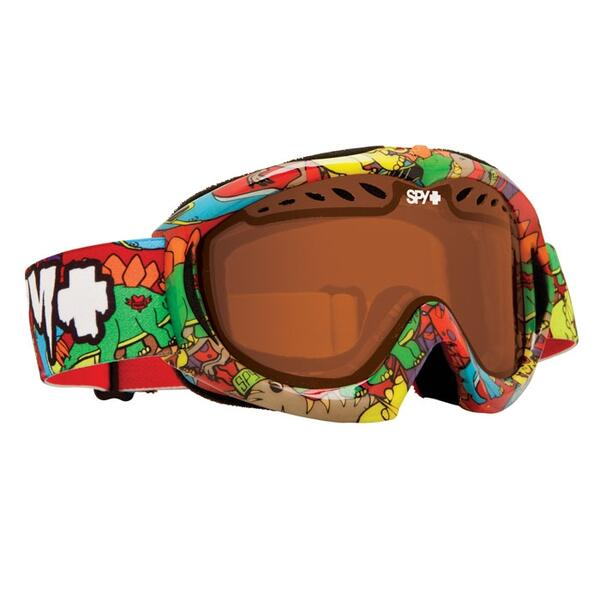 Spy Youth Targa Mini Snow Goggles with Bronze Lens