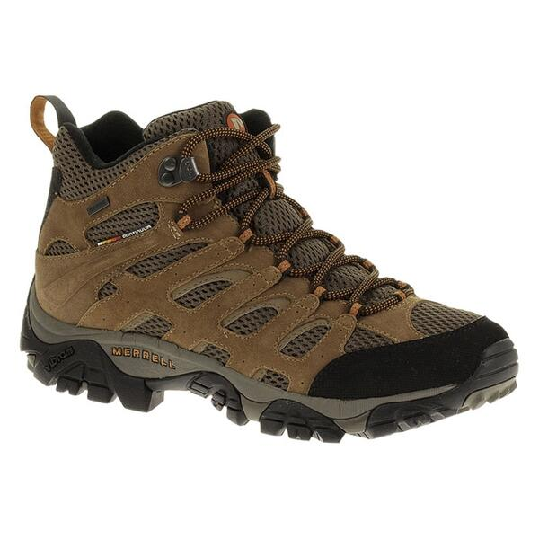 Merrell Men's Moab Mid Waterproof Hiking Boots
