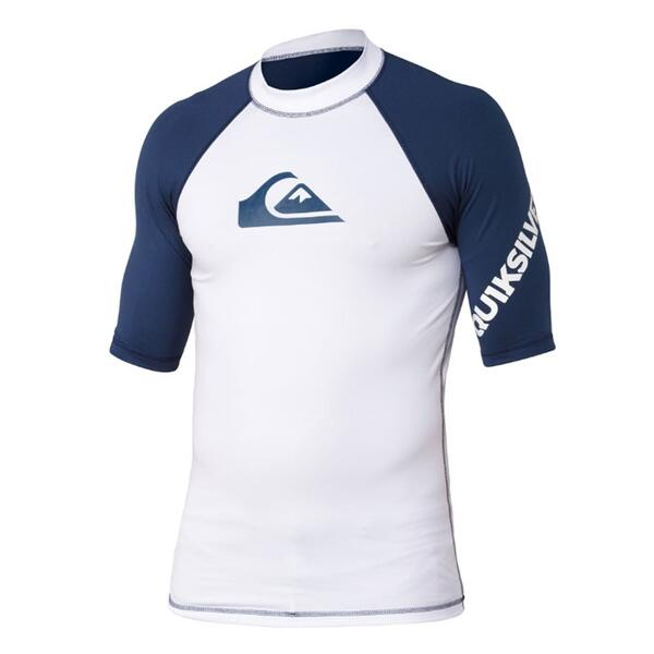 Quiksilver Boy's All Time Shortsleeve Rashguard