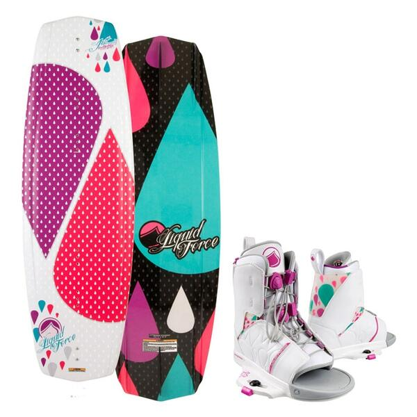 Liquid Force Women's Jett Wakeboard w/ Transit Bindings '13