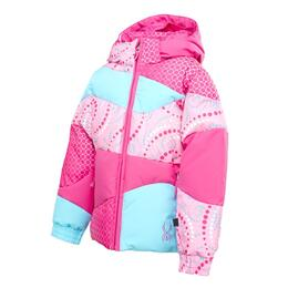 Spyder Toddler Girl's Bitsy Duffy Puff Ski Jacket