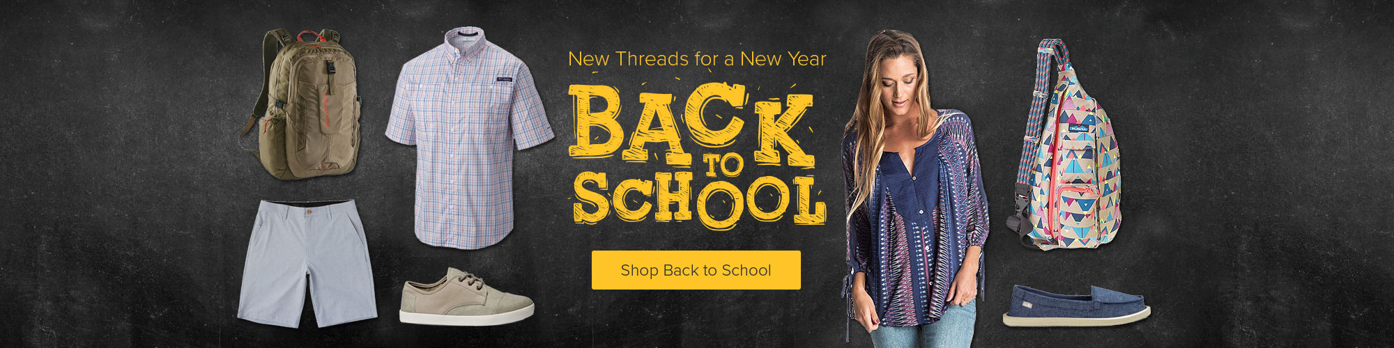 New Threads for a New Year - Shop Back to School