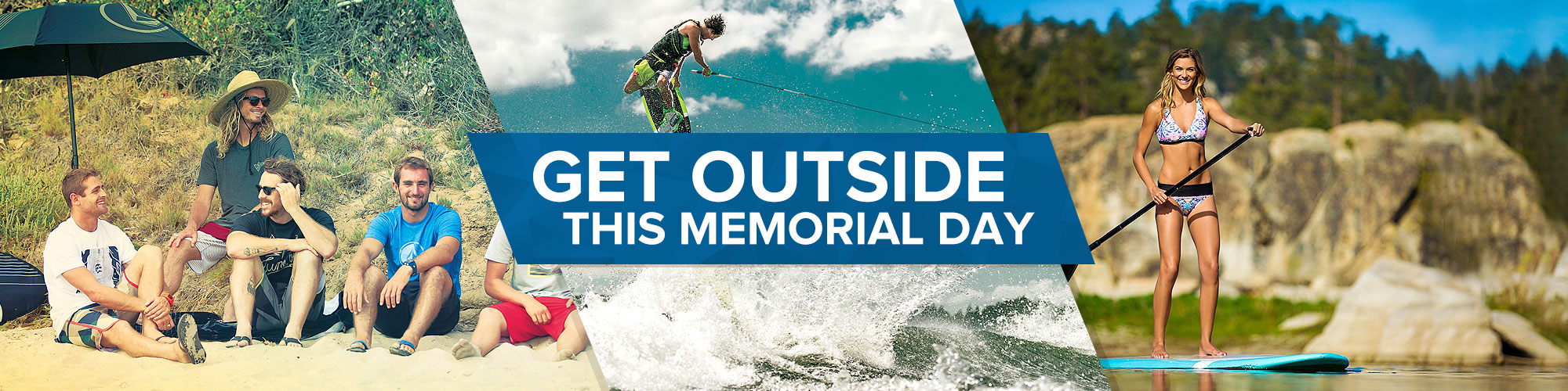 Get Outside This Memorial Day with Some New Gear from Sun & Ski.
