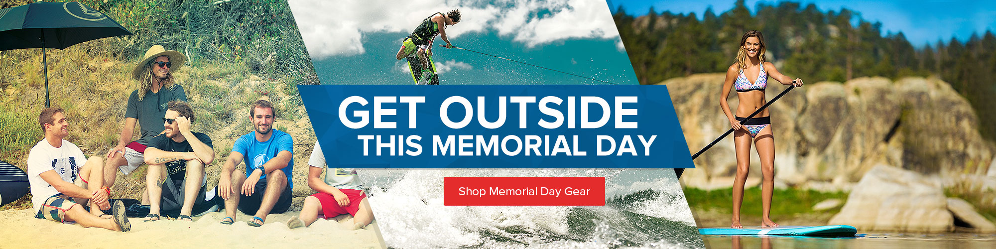 Get Outside This Memorial Day - Shop Memorial Day Gear.