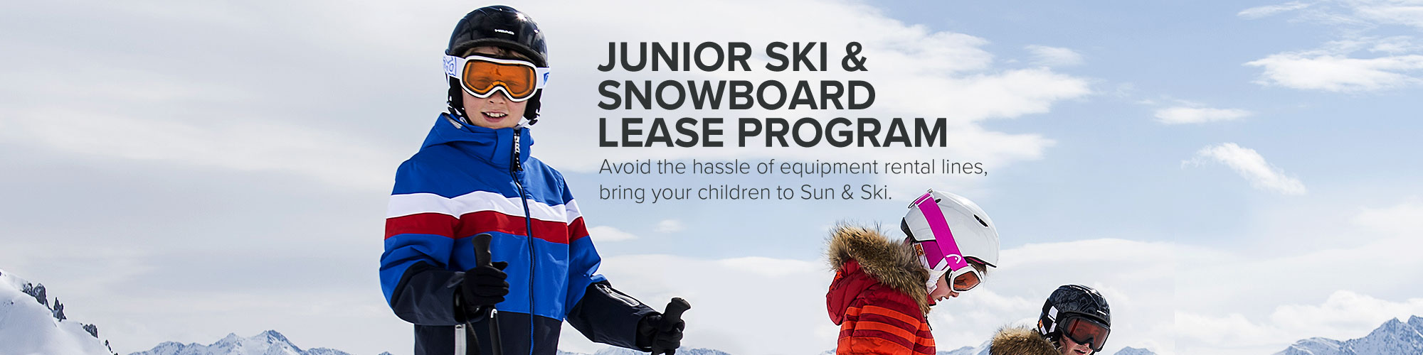 Junior Ski and Snowboard Lease Program