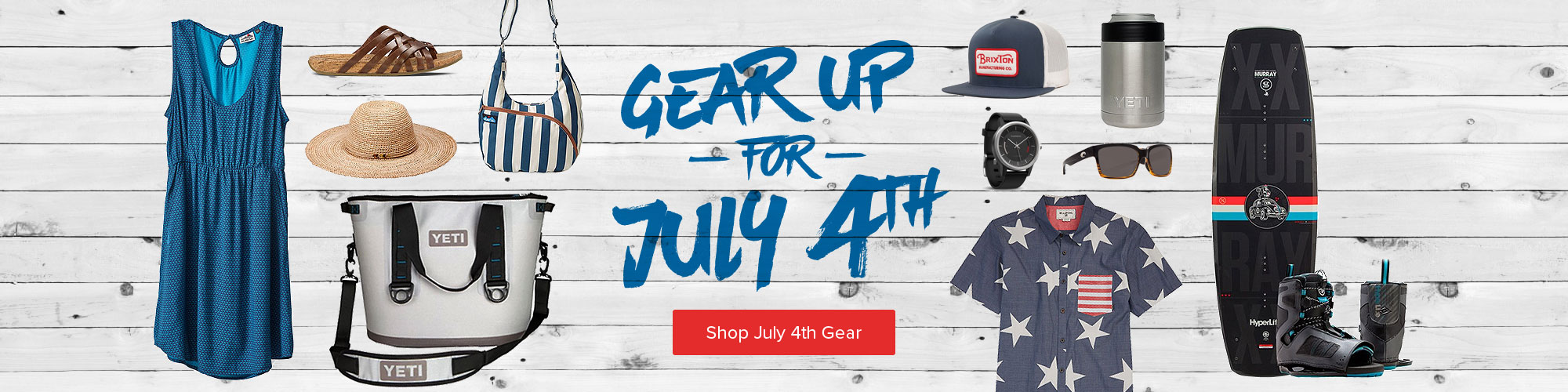 Gear Up for July 4th - Shop Now
