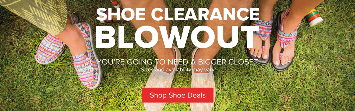 Shoe Blowout - Clearance - Shop Now