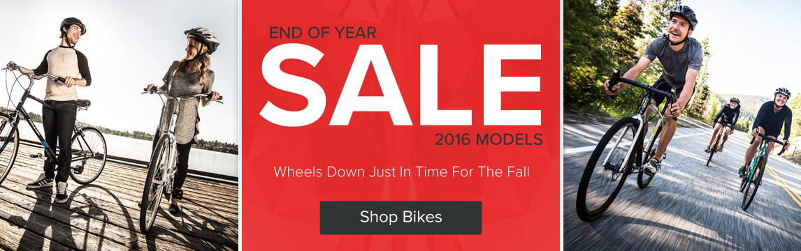 End of Year - Bike - Sale - Shop Now