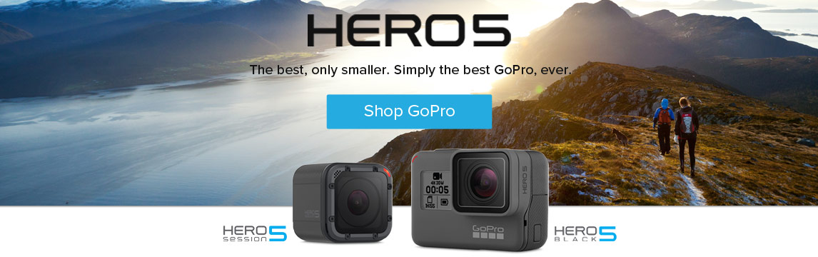 GoPro - Hero5 - Shop Now
